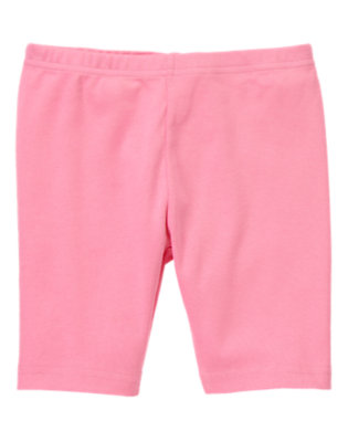 Girls Hydrangea Pink Basic Bike Short by Gymboree