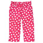 Bow Dot Capri Pant