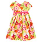 Flower Ribbon Dress