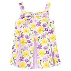 Daffodil Violet Pleated Top