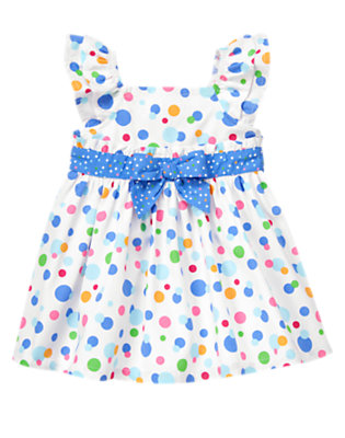 Bubbles Dot Bubble Dot Dress by Gymboree
