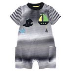 Whale Stripe One-Piece