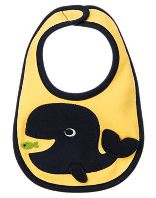 Nautical Yellow Whale Bib by Gymboree