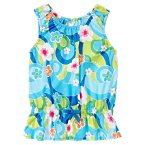 Bow Flower Swirl Top