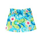 Bow Flower Swirl Short