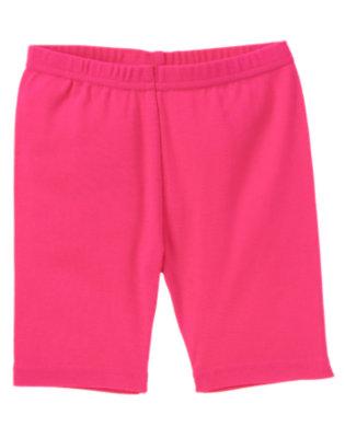 Girls Zinnia Pink Bike Short by Gymboree