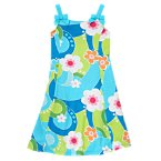 Bow Flower Swirl Dress