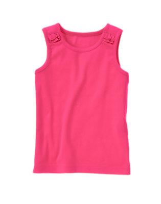 Zinnia Pink Basic Tank Top by Gymboree