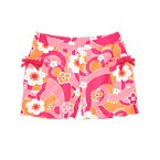 Flower Swirl Bow Pocket Short