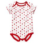 Strawberry Print Bodysuit