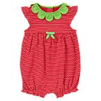 Strawberry Dot Bubble One-Piece