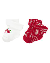 Strawberry Socks Two-Pack