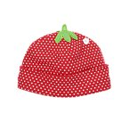 Strawberry Dot Beanie