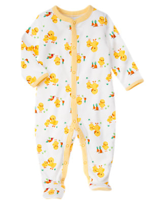 Duck Duck Footed One-Piece by Gymboree