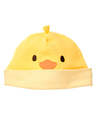 Baby Yellow Duck Beanie by Gymboree