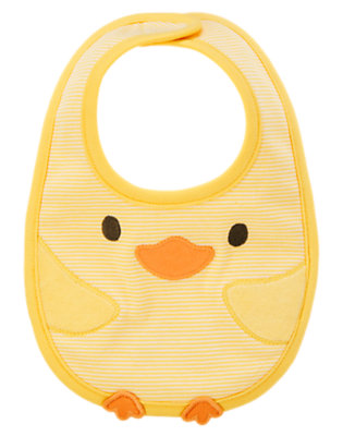Baby Yellow Duck Bib by Gymboree