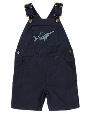 Midnight Blue Swordfish Shortall by Gymboree