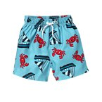 Crab Sailboat Swim Trunk