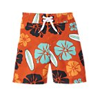 Surf Floral Swim Trunk