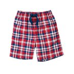 Pull-On Plaid Short