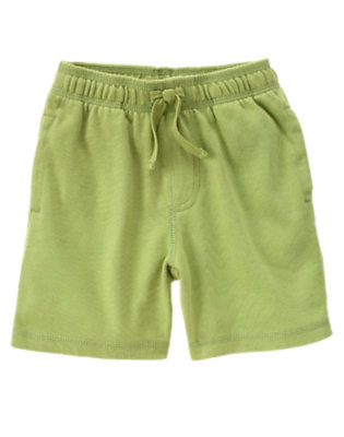Toddler Boys Dino Green Knit Active Short by Gymboree