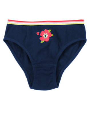 Girls Nautical Navy Poppy Panty by Gymboree