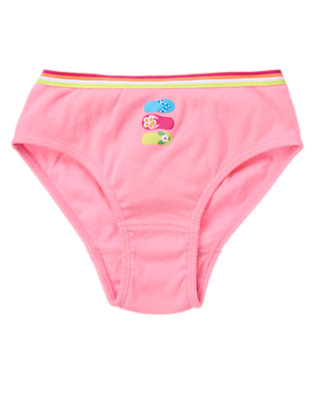 Girls Sunny Pink Flip Flop Panty by Gymboree