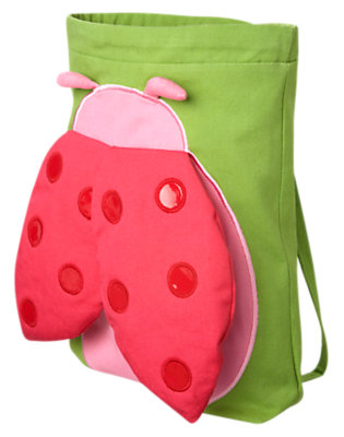 Ladybug Pink Ladybug Backpack by Gymboree