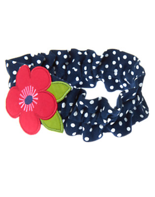 Toddler Girls Nautical Navy Dot Poppy Dot Fruffle by Gymboree