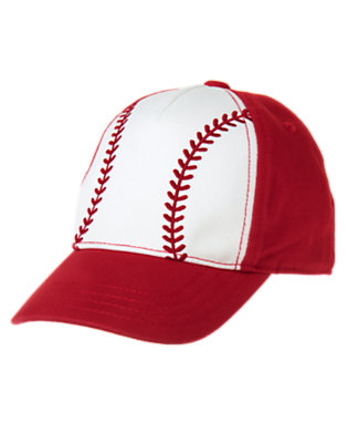 Toddler Boys Baseball Red Baseball Cap by Gymboree