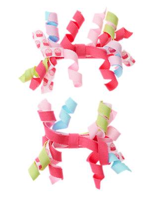 Toddler Girls Cupcake Pink Cupcake Hair Curly Two-Pack by Gymboree