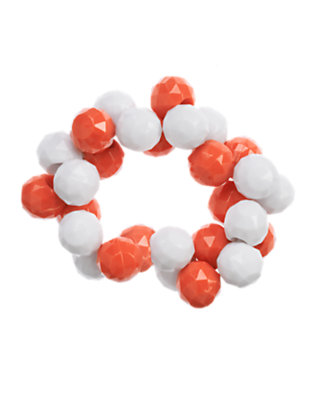 Orange Spice Faceted Bead Bracelet by Gymboree