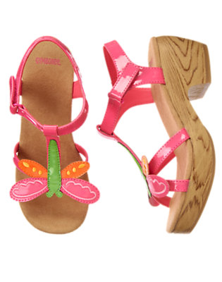 Tulip Pink Dragonfly Clog Sandal by Gymboree