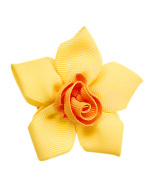 Daffodil Yellow Daffodil Hair Clip by Gymboree