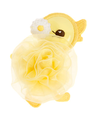 Toddler Girls Daffodil Yellow Duckling Rosette Hair Clip by Gymboree