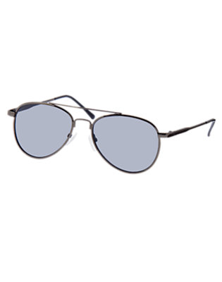 Boys Metallic Navy Aviator Sunglasses by Gymboree