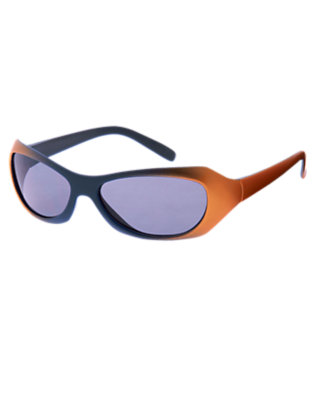 Boys Metallic Orange Metallic Fade Sunglasses by Gymboree