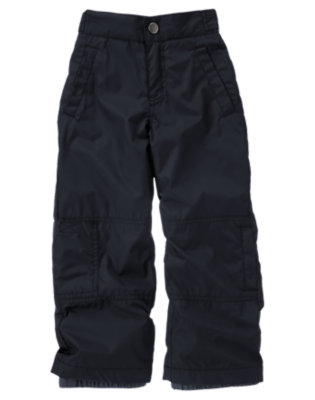Boys Navy Snowboarding Pant by Gymboree