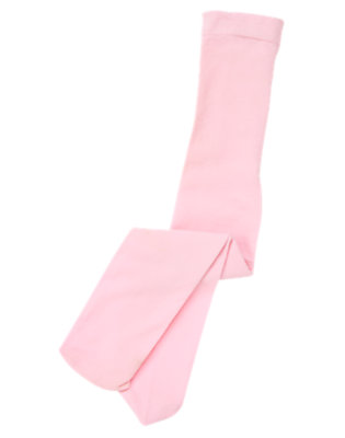 Girls Rosebud Pink Tight by Gymboree