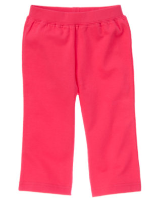 Poppy Pink Knit Pant by Gymboree