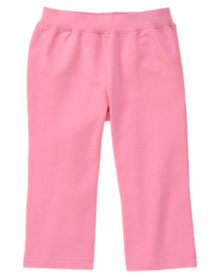 Hydrangea Pink Knit Pant by Gymboree