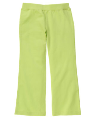 Girls Green Tea Flare Pant by Gymboree