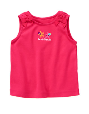 Tropical Pink Starfish Friends Bow Tank by Gymboree
