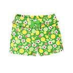Citrus Ruffle Bow Short