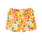Flower Ruffle Bow Short