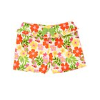 Parrot Flower Ruffle Bow Short