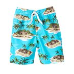 Tropical Island Swim Trunk