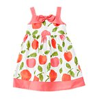Bow Peach Dress