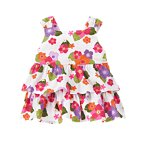 Tropical Flower Tiered Top