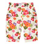 Tropical Flower Cargo Pant